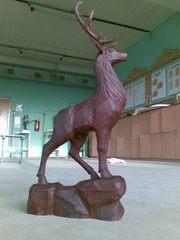 Делаем деревянные скульптуры