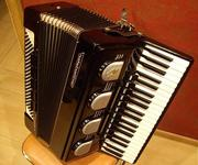 аккордеон Weltmeister Stella полный 12 регистров идеальное состояние